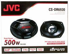 "JVC CS-DR6930 500-Watt 6x9"" Inch 3-Way Factory Upgrade Coaxial Speakers - Pair"