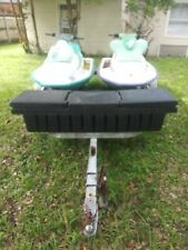 Sea Doo Jet Skis - Three 1996 SeaDoo Jet Skis with one double Trailer with box