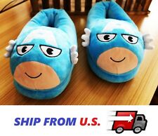 NEW super hero Captain America Stuffed Plush Slipper Unisex Adult kids shoes