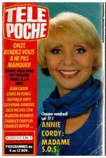 ▬►Télé Poche 873 (1982) ANNIE CORDY_SIM_GEORGE THOROGOOD