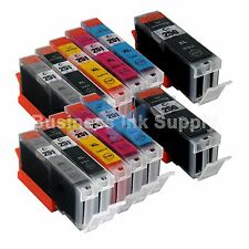 12*PK PGI-250 CLI-251 Ink Tank for Canon Printer Pixma MG6320 MG7120 iP8720 2PGI