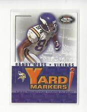 2002 Fleer Box Score Yard Markers Duals #2 Randy Moss/Daunte Culpepper Vikings