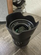 Sony FE 24mm f/1.4 GM Camera Lens -lightly used & excellent copy!