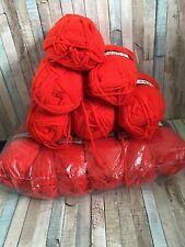 100g Marriner Chunky 32 Red Yarn X 14