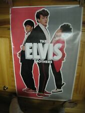 Elvis Brothers Poster The
