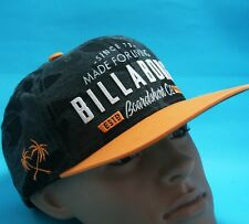 BILLABONG MENS Cap Green Brown Orange Army Camouflage Hat Size Adjustable NEW
