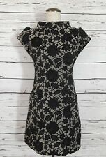 Laundry XS Black Floral Asian Style Dress