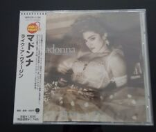 MADONNA JAPAN LIKE A VIRGIN CD ALBUM OBI WPCR - 1156 9TRACKS NEW AND SEALED!!!
