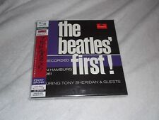 The Beatles Featuring  Tony Sheridan  – The Beatles' First! ; RARE Japan-only 2
