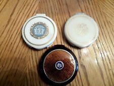 3  revlon   Face Powder  compacts Vintage