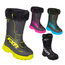 FXR Excursion Boot Authentic Insulated Fur Lining Toe Kick Snowmobile Snocross