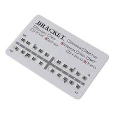 Fake Braces 20 Pcs Orthodontic Dental 022 Slot 3 Hooks Edgewise Metal Brackets