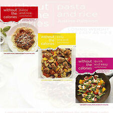 Justine Pattison Collection 3 Books Set Pasta and Rice Without the Calories,New