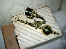 BALDWIN BRASS BALL SCONCE NEW OLD STOCK IN BOX