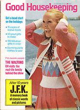 SHIPPED IN A BOX -  Good Housekeeping Magazine November 1973