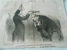 HD 2831 Daumier 1851 - 1st large price of vertu and religion Louis-Mimi-veron