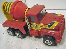 Nylint red pressed steel tilt cement mixer toy truck
