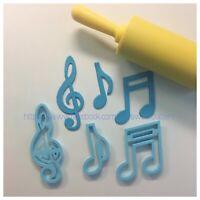 Note Musicali Musica Chiave Violino Croma Formine Biscotti Cookie Cutter 7cm