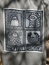 NEW Martha's Vineyard T-Shirt Size Small Nancy Luce's Chickens Daniel Waters Art