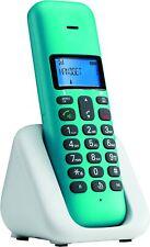 Telefono Cordless DECT GAP Motorola T301 Plus Rubrica Vivavoce Turchese
