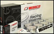 SBC CHEVY 406 WISECO FORGED PISTONS & RINGS 4.155 FLAT TOP USES 6.0 RODS KP500A3