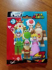 K'NEX ICE LUIGI ELITE Super Mario Series 8 (New In Bag)