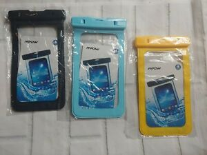 3x Underwater Waterproof Dry Bag Pouch Case For iPhone Samsung Cell Phone