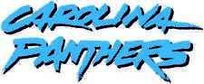 CAROLINA PANTHERS Vinyl Decal / Sticker ** 5 Sizes **