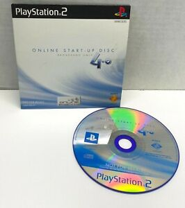 Playstation 2 Online Start-Up Disc Broadband Only PS2 Sony