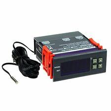 Dc 12v Fahrenheit Digital Temperature Controller 10a 1 Relay With Sensor