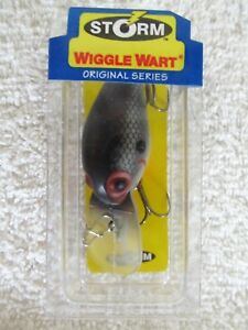 "Storm Original  Wiggle Wart V51  2"" 3/8 oz. Wiggle Wart Tennessee Shad Lure NIB"