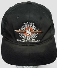 Vintage 1990s NASCAR WINSTON CUP SERIES 25th ANNIVERSARY Racing Snapback Hat Cap