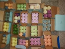 124 Partylite Candle Lot Votive Candles Variety Scents 20 Boxes Votives Tealight