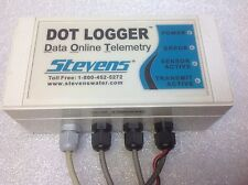 STEVENS DATA DOT LOGGER WATER MONITORING SYSTEM DATA ONLINE TELEMETRY SALE $59