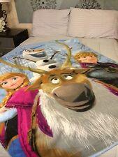 Disney Frozen Ana Olaf Fleece Blanket Throw NEW