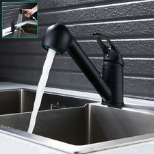 Modern Pull Out Spray Kitchen Sink Taps Brass Kitchen Mixer Single Lever Tap