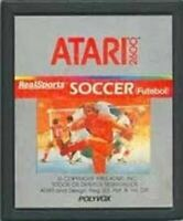 Real Sports Soccer - Original Atari 2600 Game Authentic