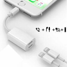 iPhone 7/6  2 para adaptador de cable de audio cargar auriculares