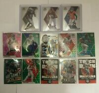 2020 NFL Mosaic Prizm Card Lot (13) Cards Including Rookies See Description