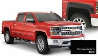 Bushwacker Pocket/Rivet Black Fender Flares for 16-18 Silverado 1500