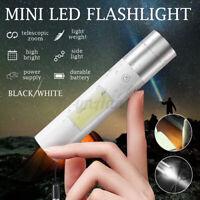 Mini Portable Super Bright LED USB Rechargeable Torch Lamp Flashlight