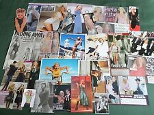GERI HALLIWELL- SPICE GIRL - POP MUSIC  - CLIPPINGS - CUTTINGS PACK