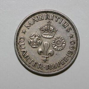 MAURITIUS 1/4 RUPEE 1960 (3193392R623)