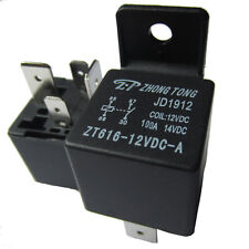 Sales Hot Car Motor Automotive 12V 100A 100 AMP SPST Relay 4 Pin 4P Heavy Duty
