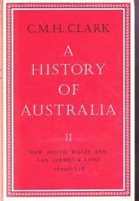 CLARK - A HISTORY OF AUSTRALIA II - NSW & VAN DIEMEN'S LAND - EXCELLENT HB DJ