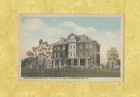 PA Chambersburg 1908-29 antique postcard WILSON COLLEGE SOUTH DORMITORY PENN