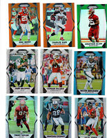 30 ct lot mixed 2017 panini prizm Refractor Parallel cards RC's, Colors, #'d WOW