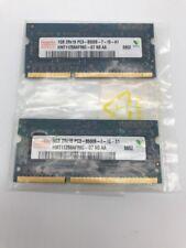 Lot of 2 Hynix 1GB 2Rx16 PC3-8500S-7-10-A1 HMT112S6BFR6C-G7 N0 AA