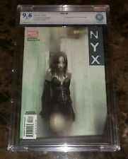 NYX #3 Comic Book 1st Appearance of X-23 Graded CBCS 9.6 (cgc,pgx)