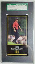 1997 Grand Slam Ventures Masters Tiger Woods Rookie Card RC SGC 8 NM-MT